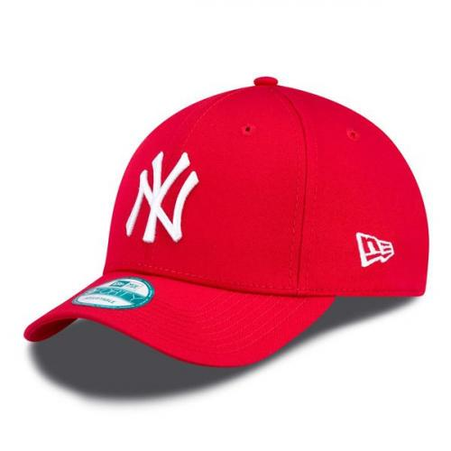 New Era 9Forty MLB League Basic NY Yankees Scarlet White