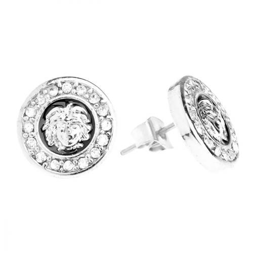 Iced Out Bling Earrings Box - HOT SQUARE silver - Bronx c92c12a863e