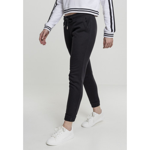 Urban Classics Ladies Sweatpants Black