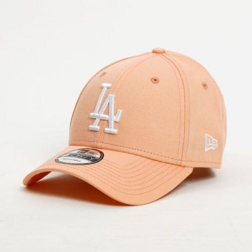 New Era 9Forty MLB League Essential LA Dodgers Peach White