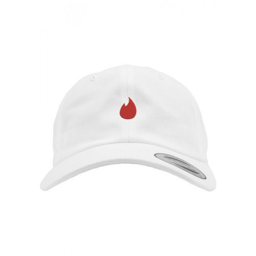 Mr. Tee Fire Dad Cap white