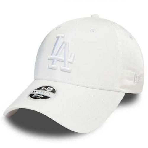 New Era 9Forty Womens LA Dodgers Satin White