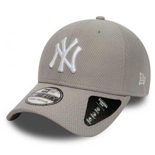 New Era 39thirty MLB Diamond Era NY Yankees Grey
