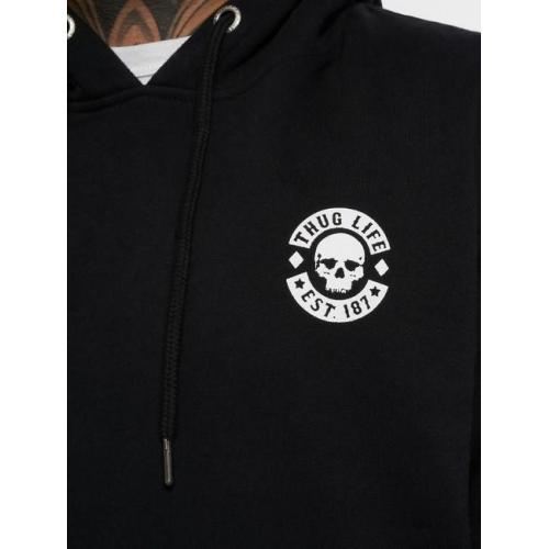 Thug Life / Hoodie Digital in black
