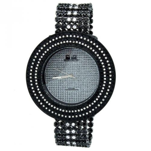 Iced Out High Quality FULL CASE Watch black / white