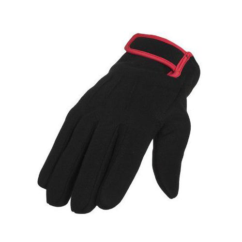 Urban Classics 2-tone Sweat Gloves Black Red