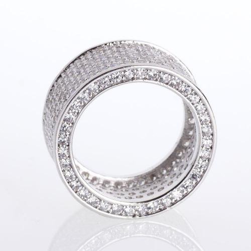 Iced Out Micro Pave prsteň