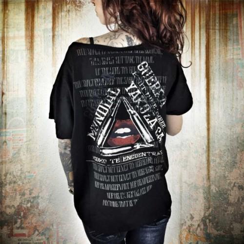 Yakuza dámske tričko Guerra Mundial GSB 7109 black
