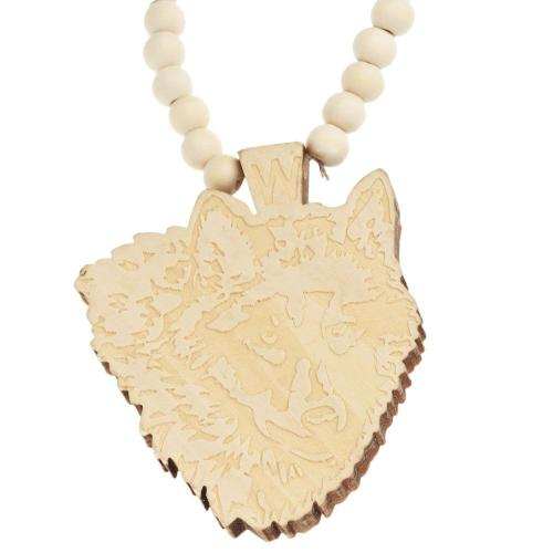 Wood style náhrdelník