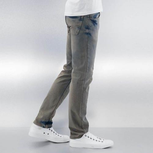 Cazzy Clang Washed Straight Fit Jeans Blue