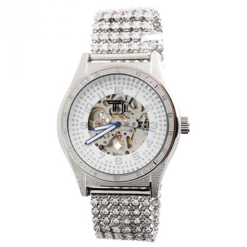 Iced Out TECHNO ICE - SPECIAL EDITION Diamond Automatic Watch - 0.25
