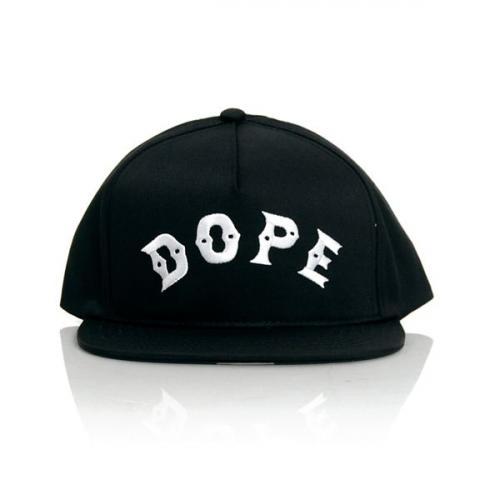 Dope Bowery Snapback Black