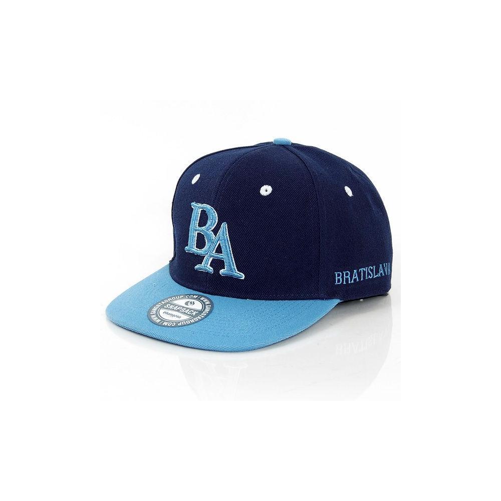 GangstaGroup BA Bratislava Logo Snapback Cap Navy Light Blue. Loading zoom ab0bf22a037