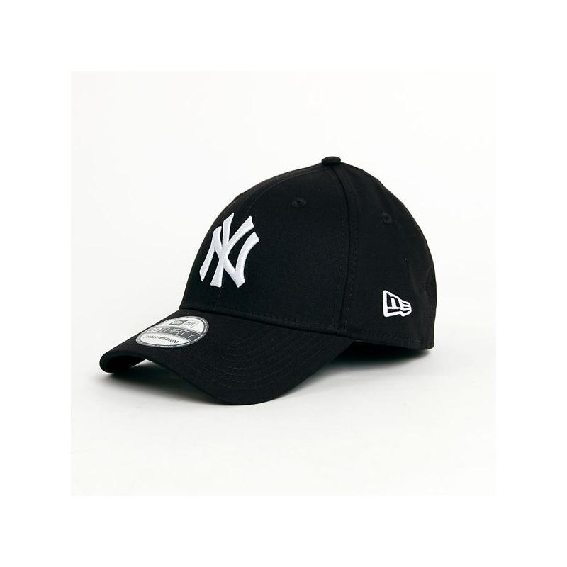 a5acd27c444 New Era 39thirty MLB League Basic NY Yankees Black White - Bronx