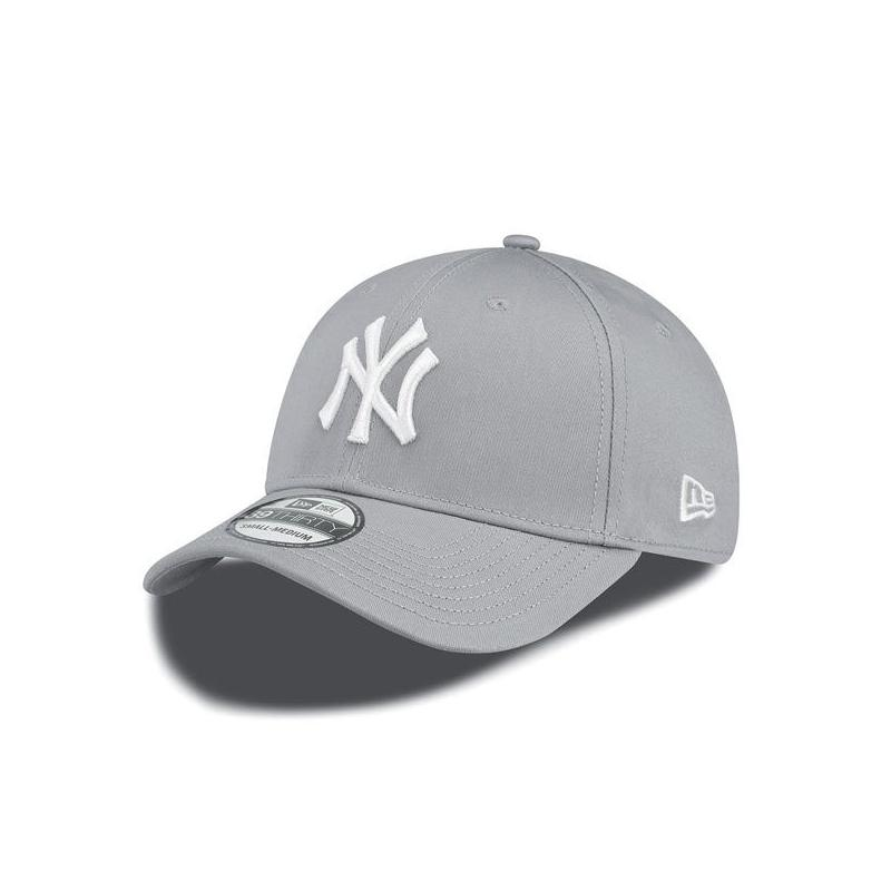 a12670fbbad New Era 39thirty MLB League Basic NY Yankees Grey White - Bronx