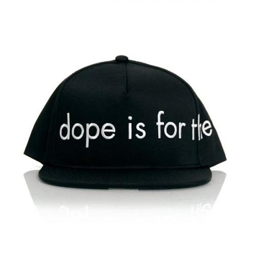 Dope For the Kids Snapback Black