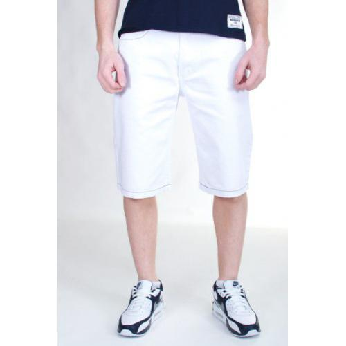 KARL KANI JEANS IT WAS WRITTEN DENIM SHORT WHITE