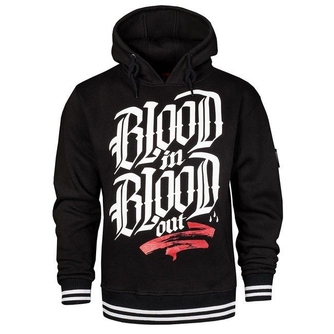 Blood In Blood Out Logo Hoodie Black - M
