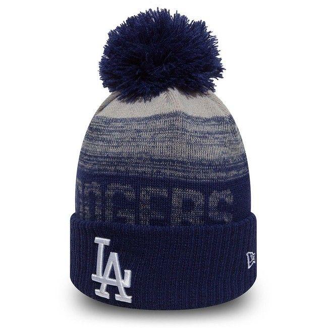 New Era MLB Sport 2 Cuff LA Dodgers Knit Blue - Uni