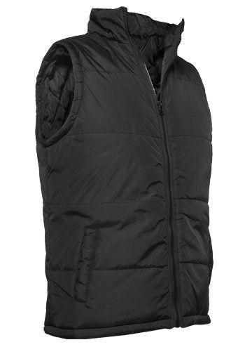 Urban Classics Basic Light Vest Black - S / čierna