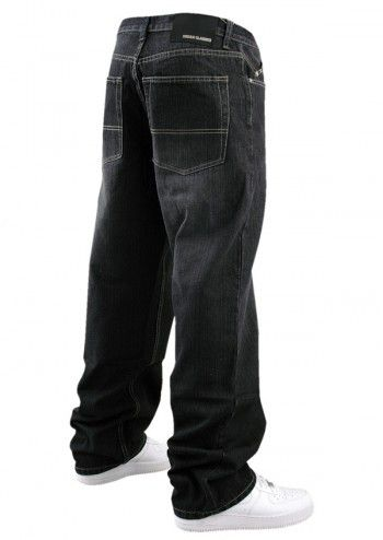 Urban Classics Basic Jeans Black - 28 / čierna