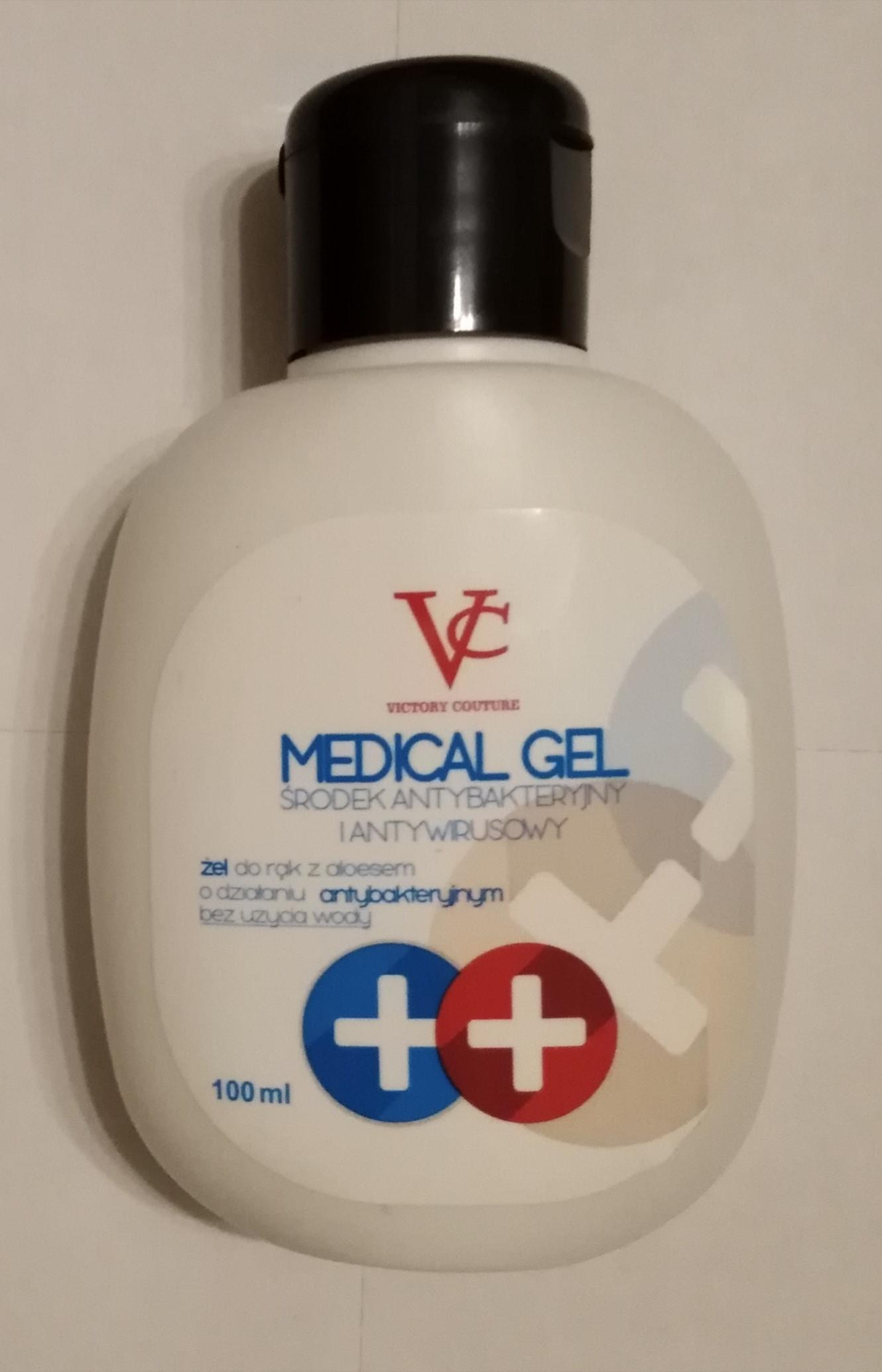 Antibakteriálny a antivírusový gel na ruky s aloe vera 100 ml