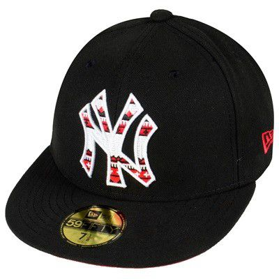 New Era Cap 1488 Black - 7 1/8