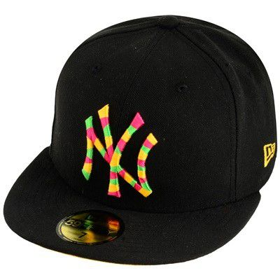 New Era Cap 1491 Black - 7 3/8