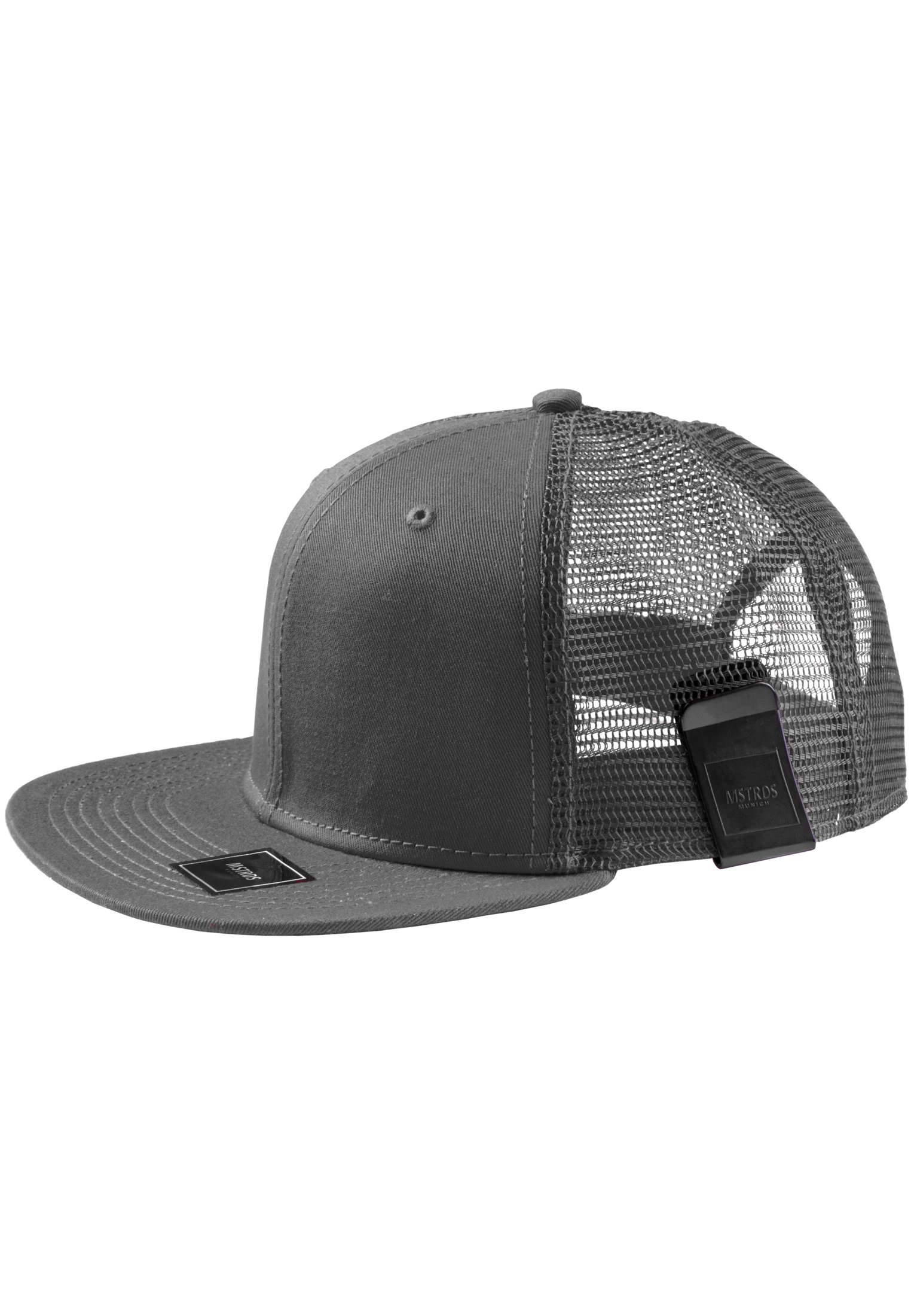 Master Dis MoneyClip Trucker Snapback Cap charcoal - One Size