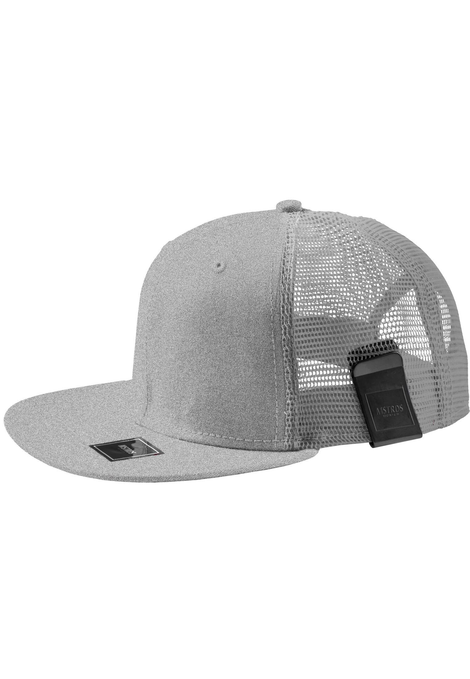 Master Dis MoneyClip Trucker Snapback Cap h.grey - One Size