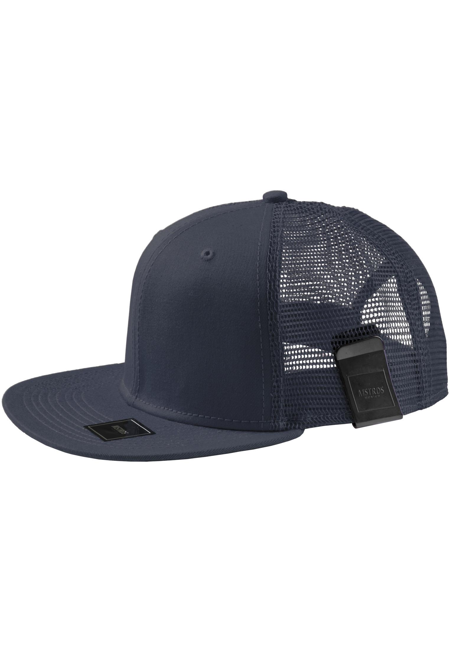 Master Dis MoneyClip Trucker Snapback Cap dark navy - One Size