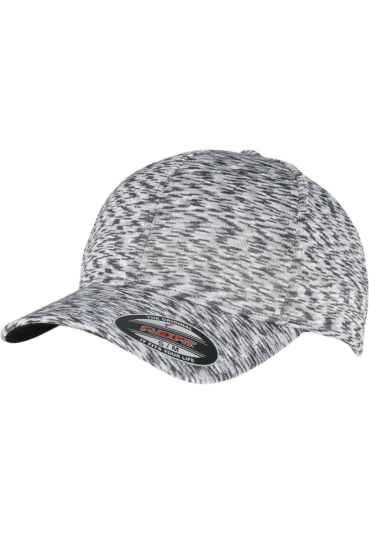 Urban Classics Stripes Melange Flexfit light melange - S/M