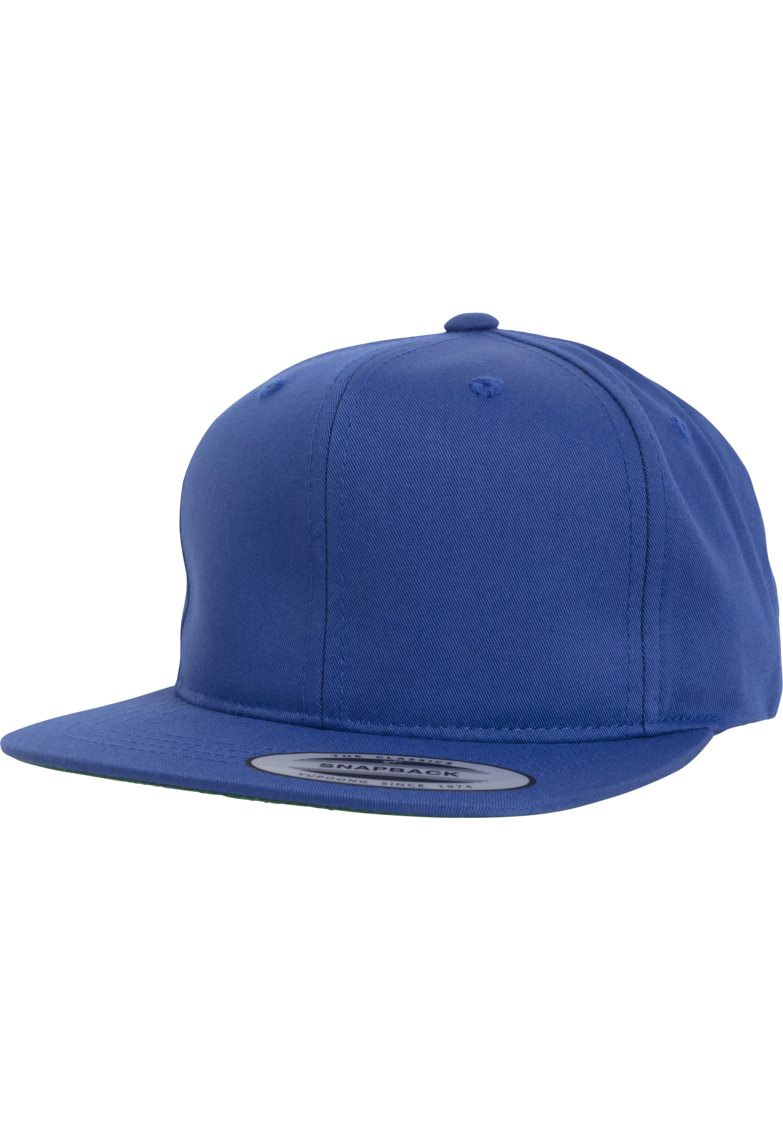 Urban Classic Pro-Style Twill Snapback Youth Cap royal - B (Ages 6-14)