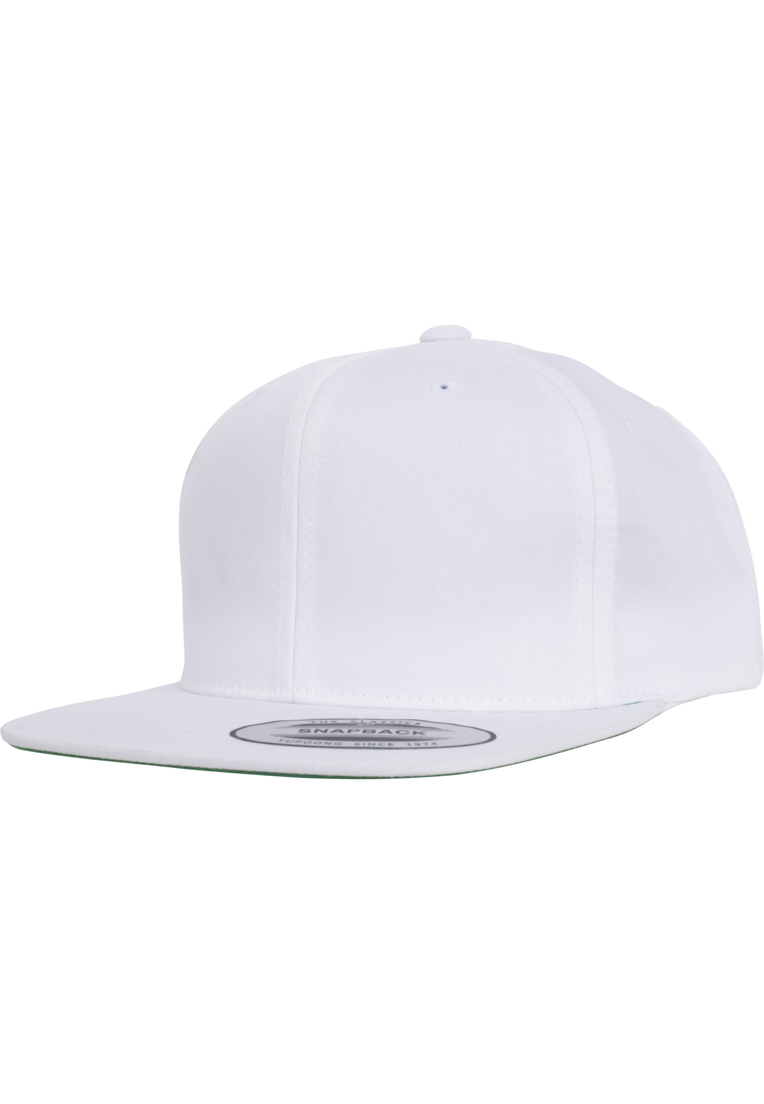 Urban Classic -Style Twill Snapback Youth Cap white - B (Ages 6-14)