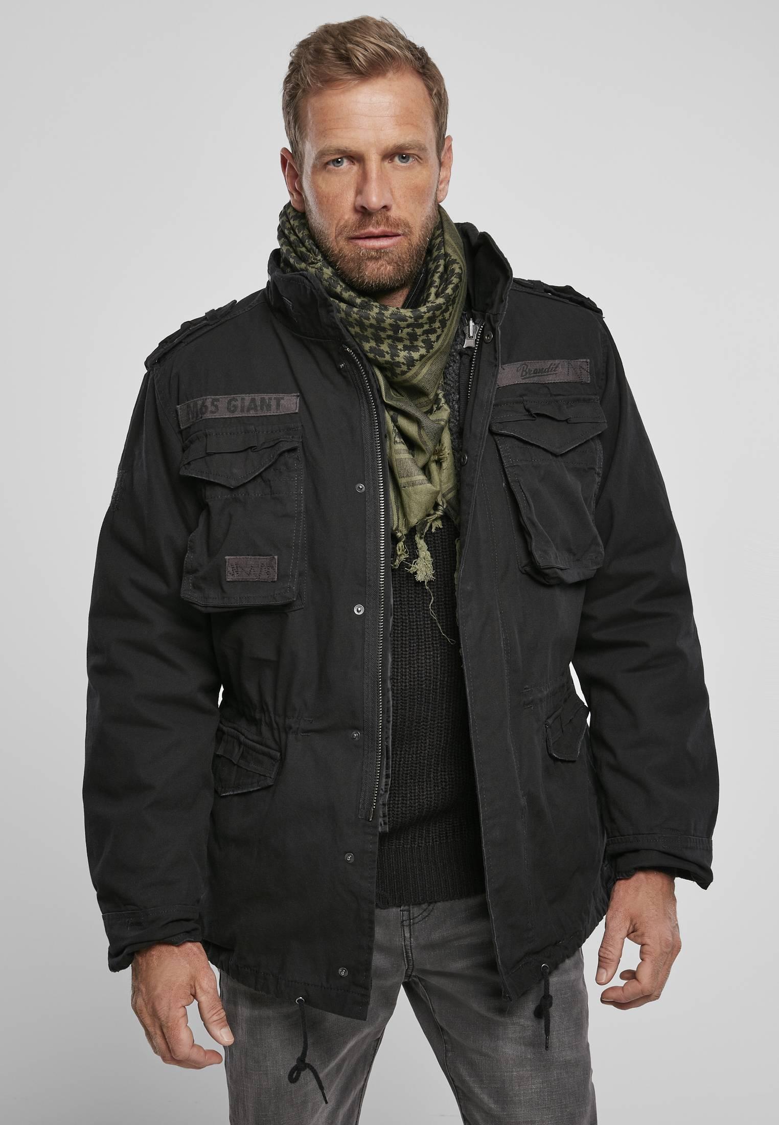 Urban Classics Brandit M-65 Giant Jacket black - S