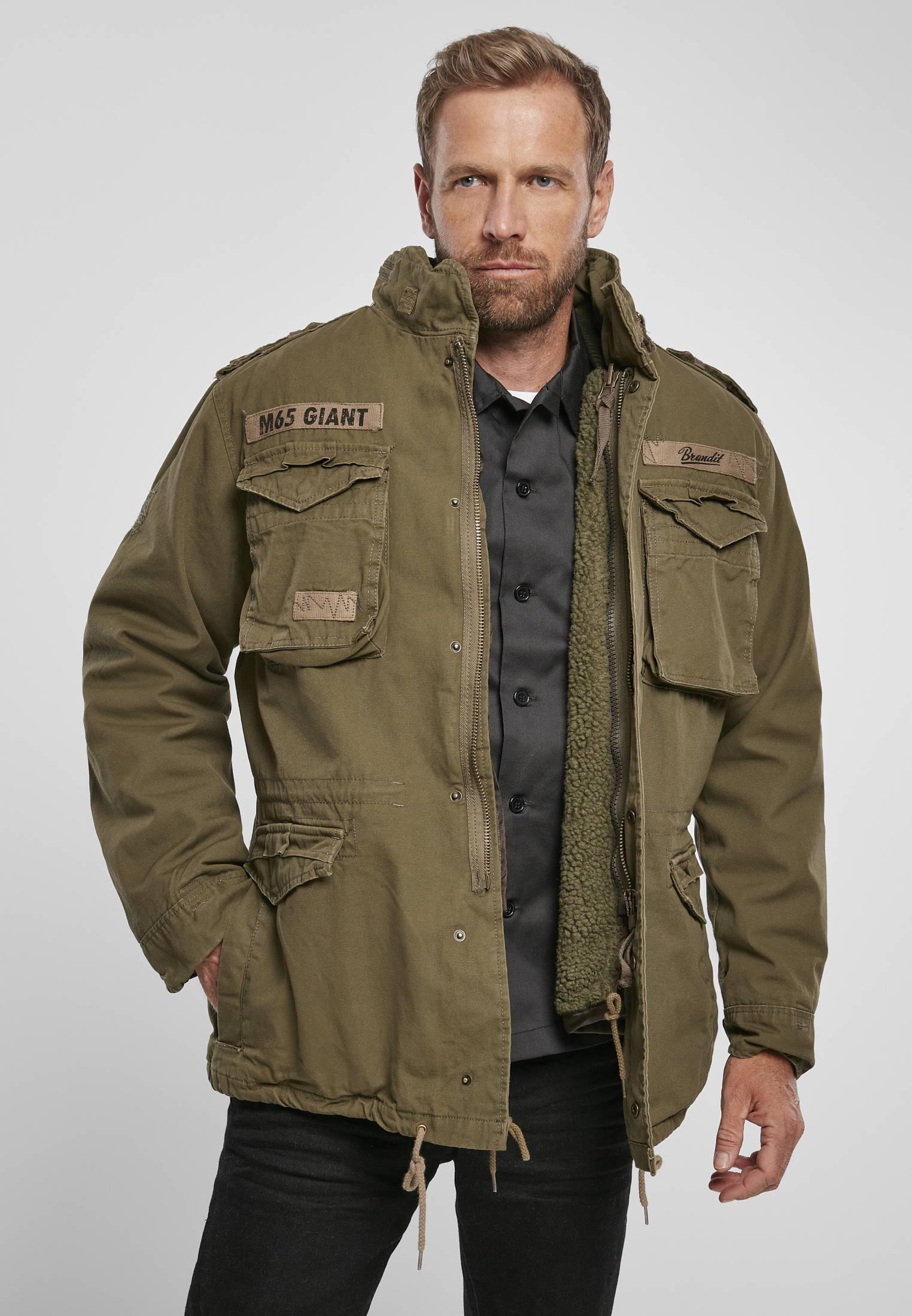 Urban Classics Brandit M-65 Giant Jacket olive - S