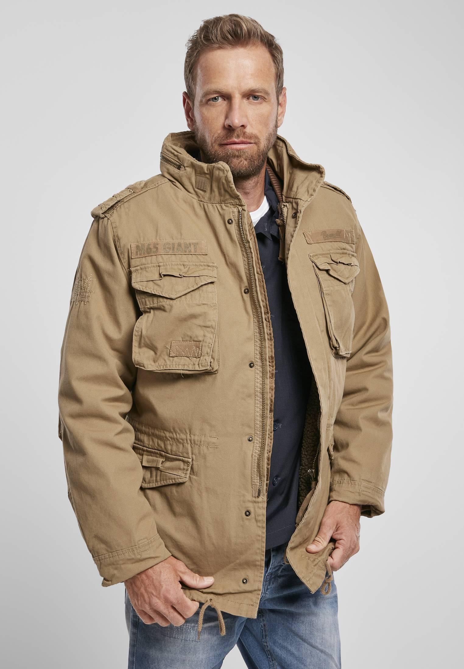 Urban Classics Brandit M-65 Giant Jacket camel - S