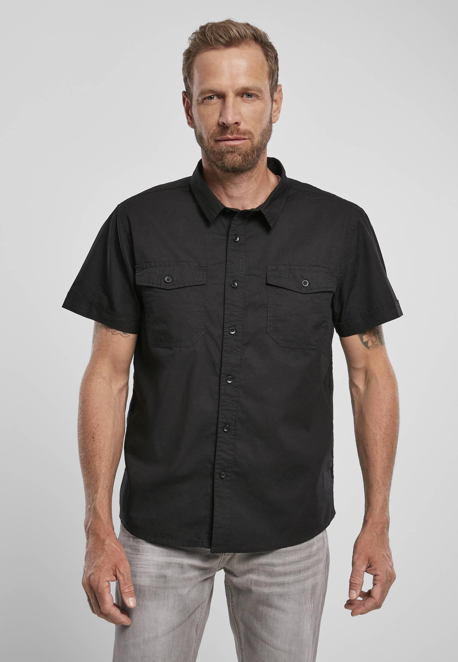 Urban Classics Brandit Roadstar Shirt black - S