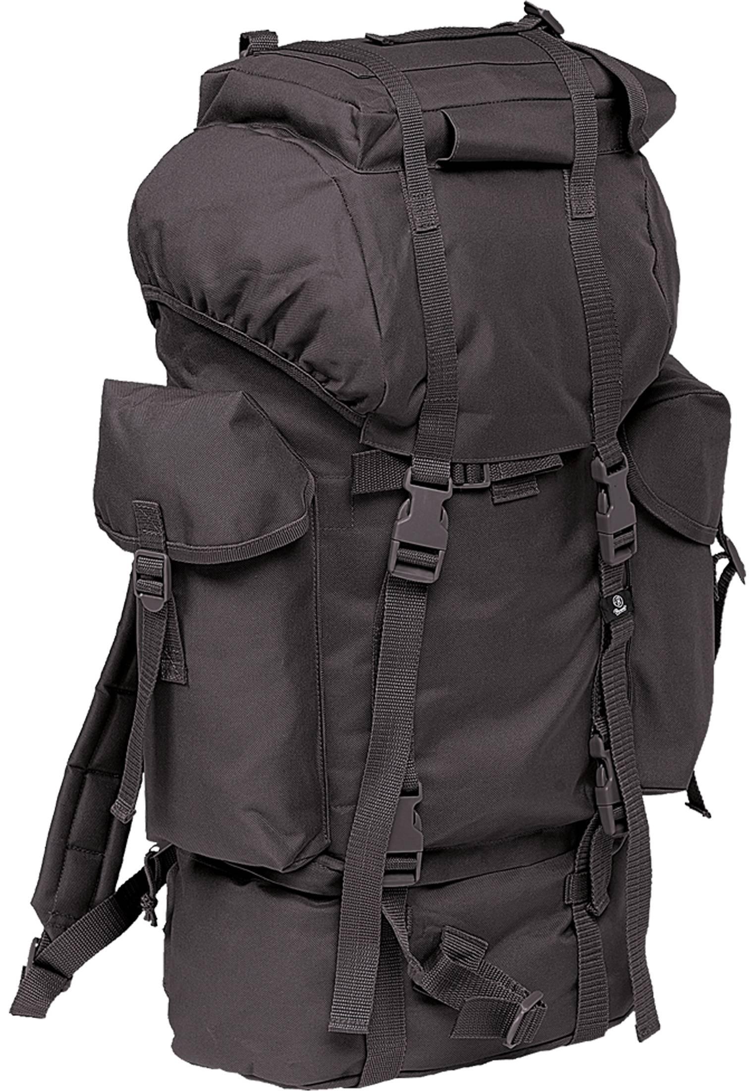 Urban Classics Brandit Nylon Military Backpack black - One Size
