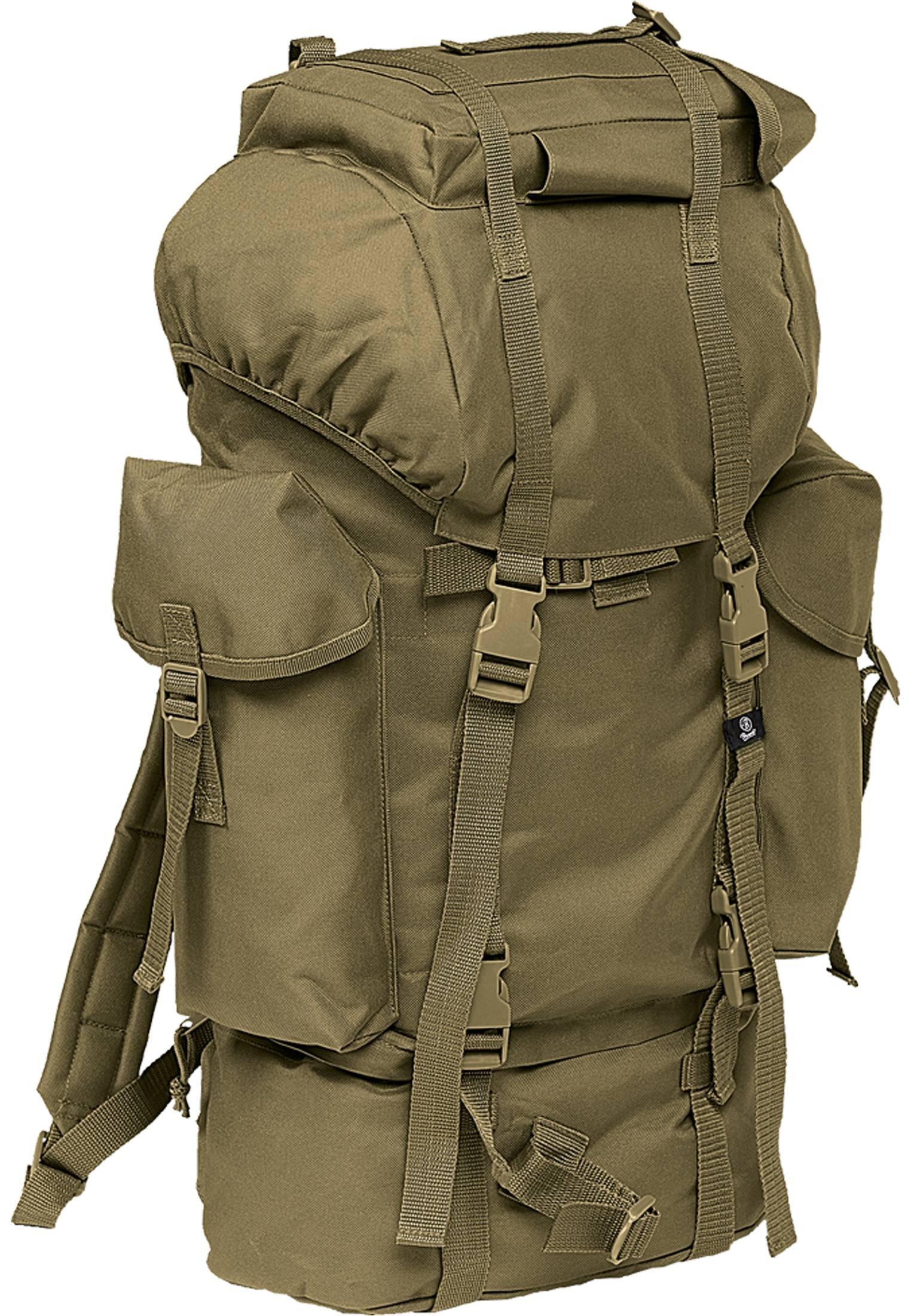 Urban Classics Brandit Nylon Military Backpack olive - One Size