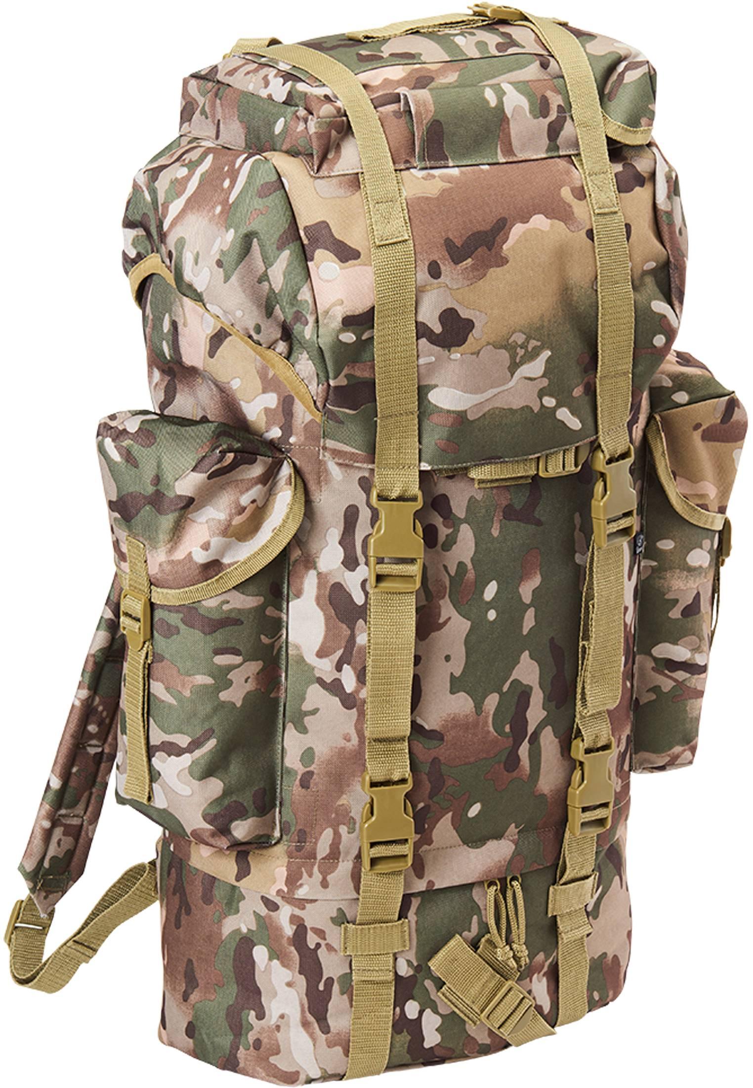 Urban Classics Brandit Nylon Military Backpack tactical camo - One Size