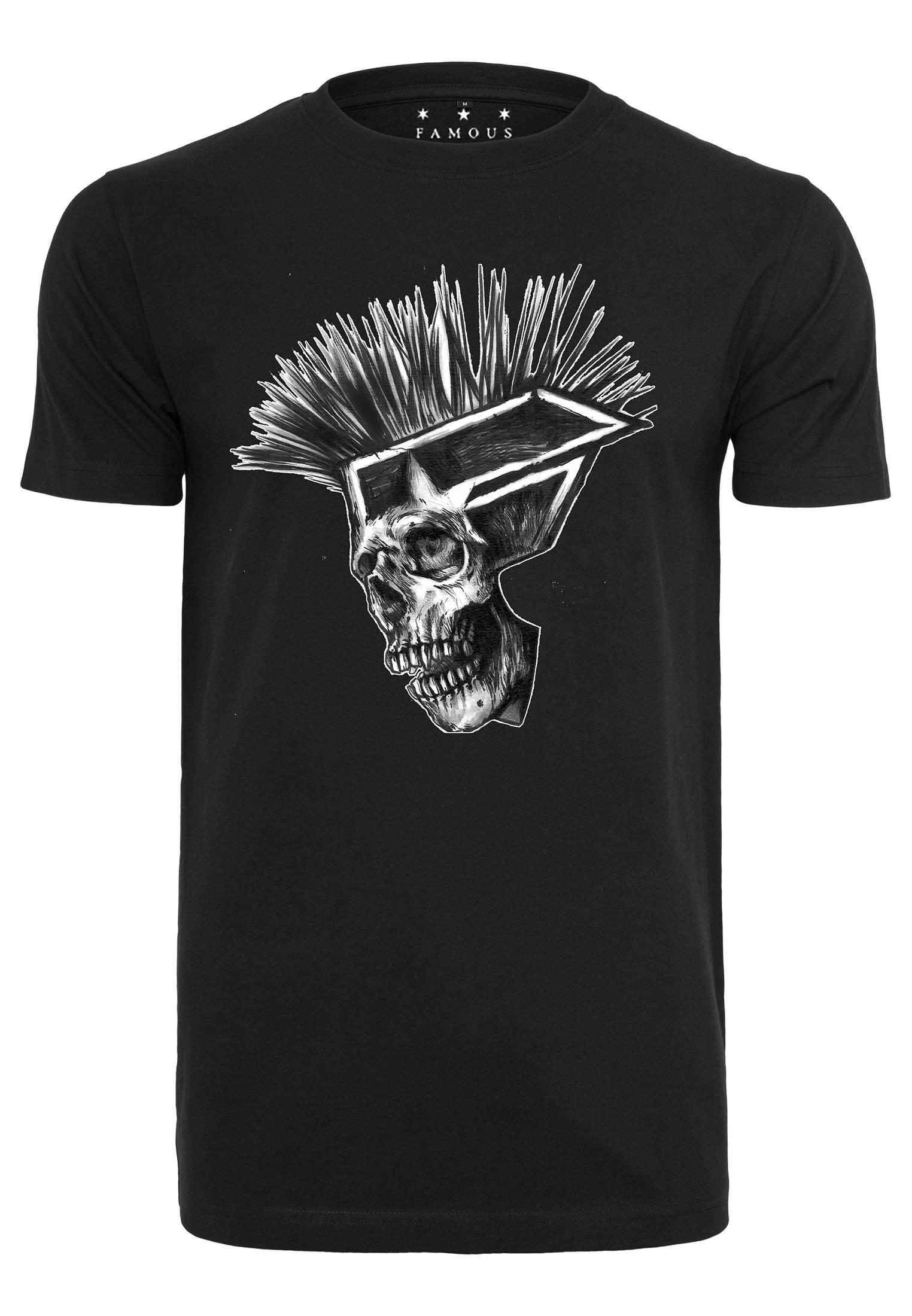 Famous Punks Not Dead Tee black - S
