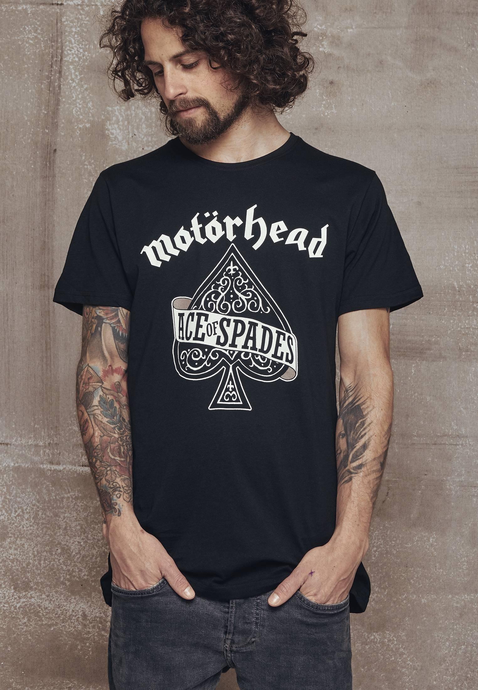 Merchcode Mot?rhead Ace of Spades Tee black - L