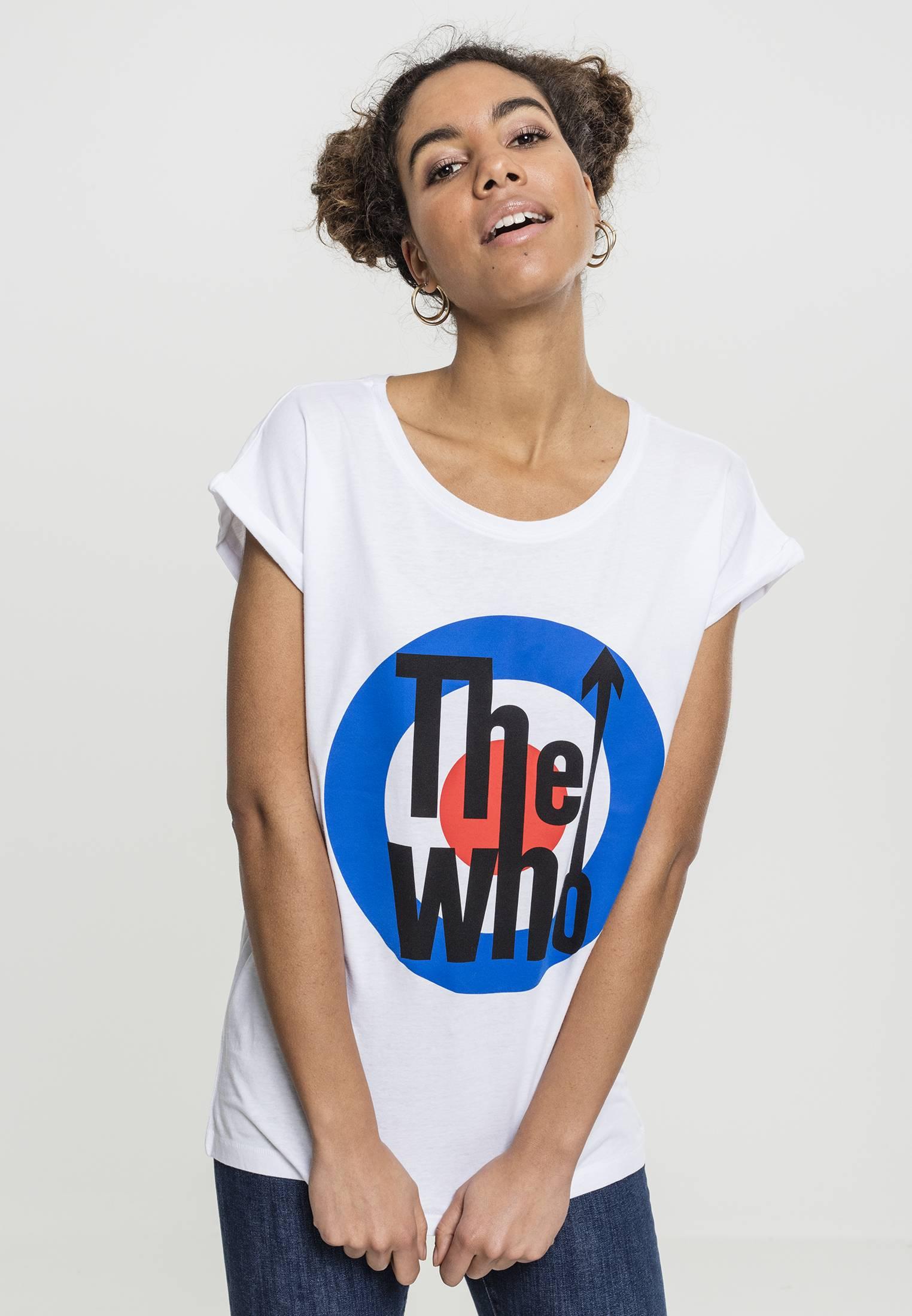 Merchcode Ladies The Who Classic Target Tee white - S