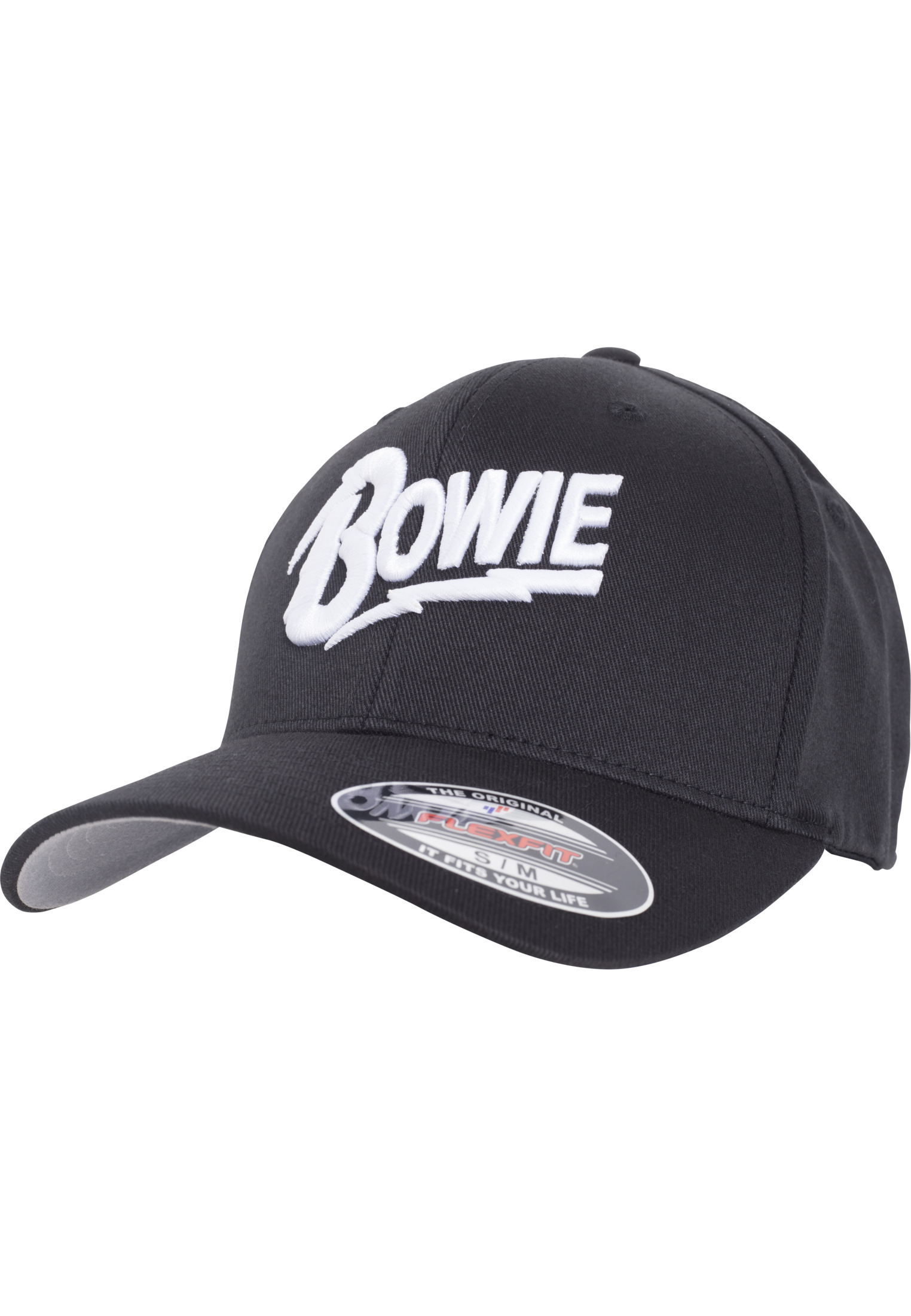 Merchcode David Bowie Flexfit Cap black - L/XL