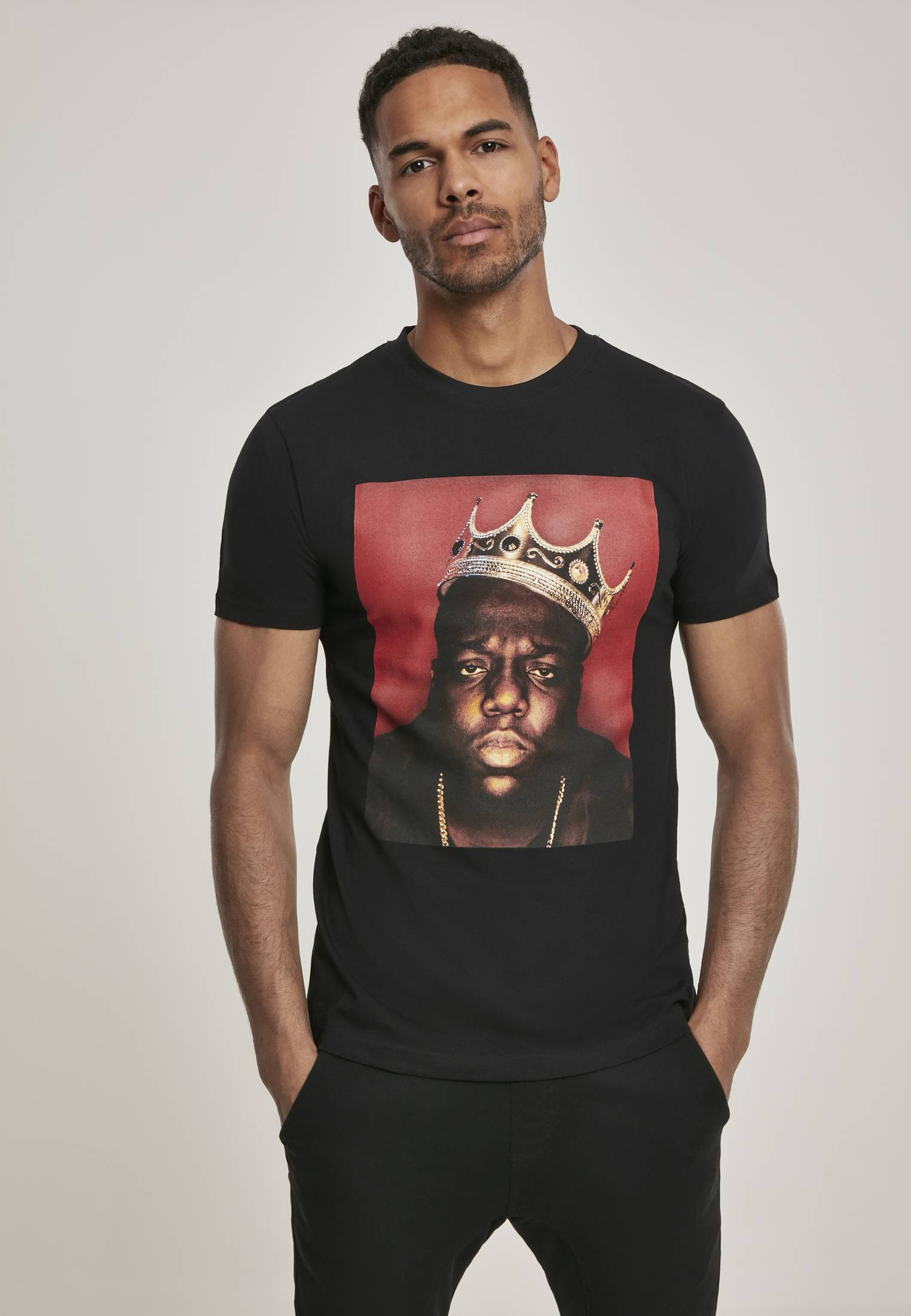 Merchcode Notorious Big Crown Tee black - S