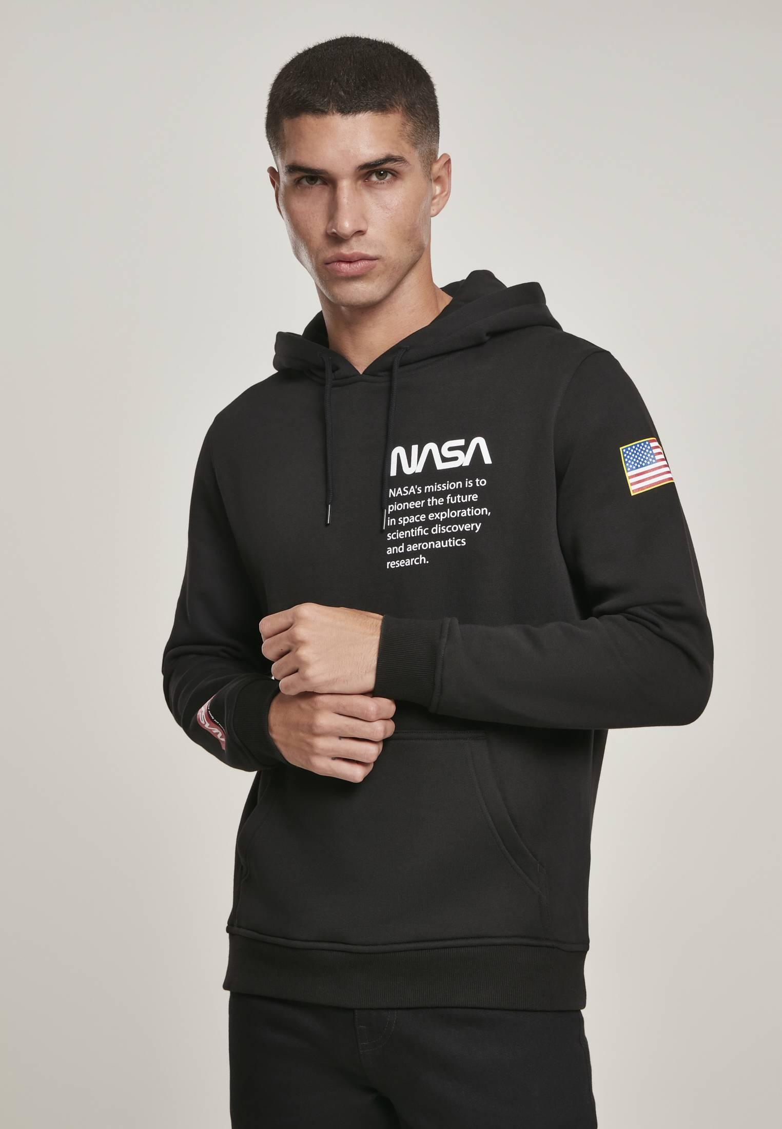 Mister Tee NASA Definition Hoody black - S