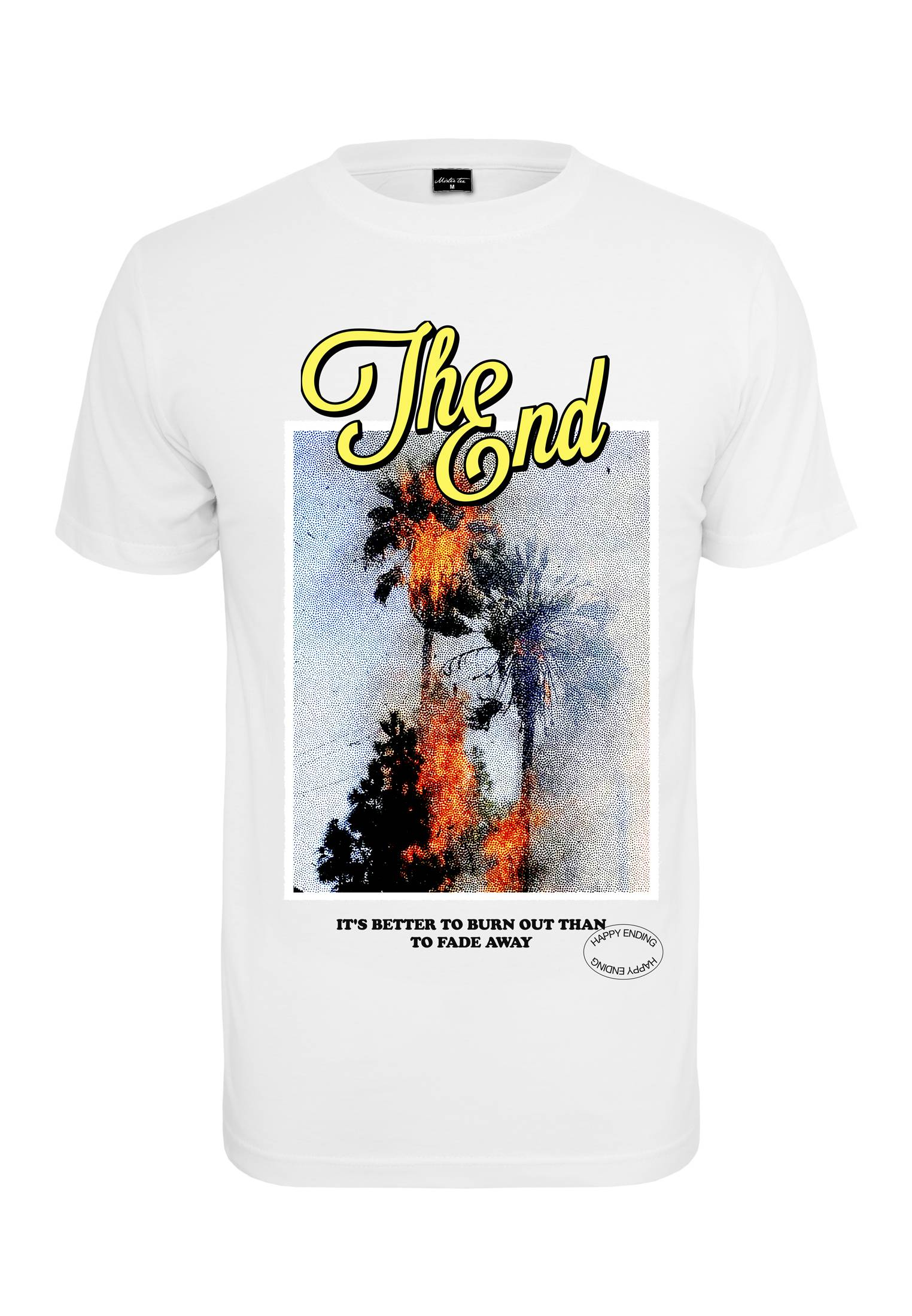 Mister Tee The End Tee white - S