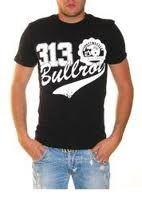 Bullrot Wear T-shirt Black - 2XL / čierno-biela