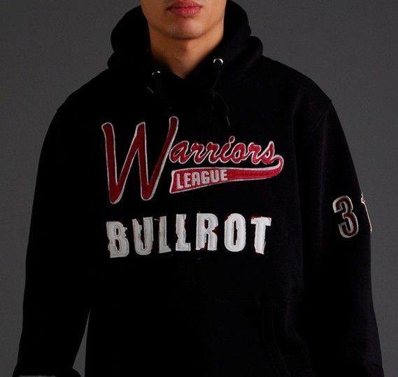 Bullrot Wear Hoody Black - 2XL / čierna